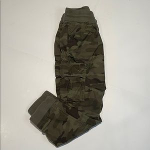 Gap Camo Jogger Cargo Pants Boys sz S